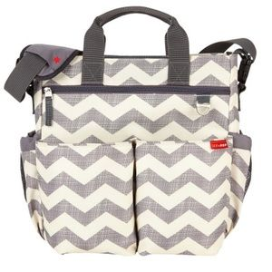 Skip Hop Duo Signature Diaper Bag Chevron